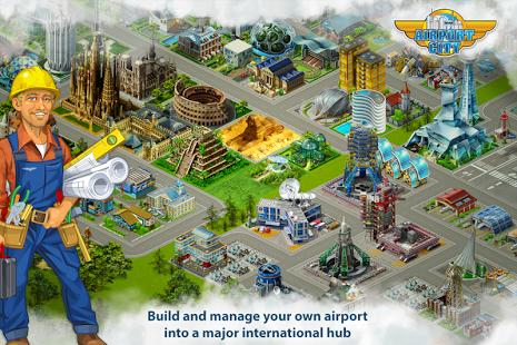 بازی اندروید فرودگاه شهر - Airport City