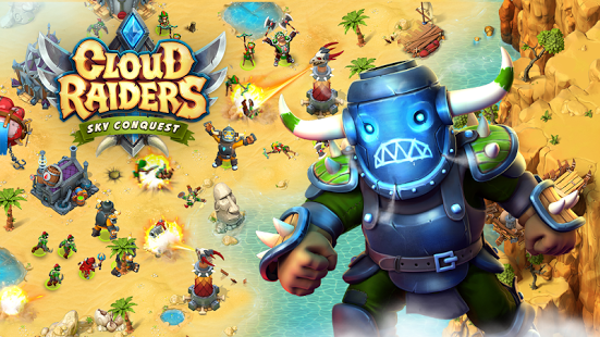بازی اندروید یورش ابری - Cloud Raiders