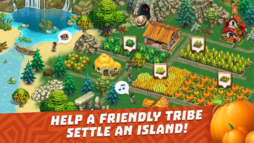 بازی اندروید ساخت روستا تریبس - The Tribez: Build a Village