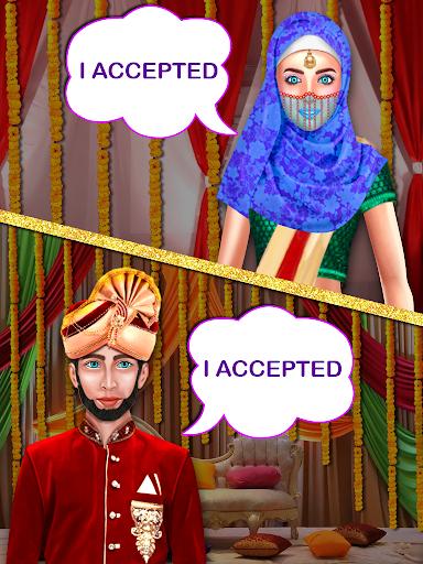 بازی اندروید مراسم عروسی سلطنتی با حجاب - The Royal Hijab Girl Wedding Rituals Game