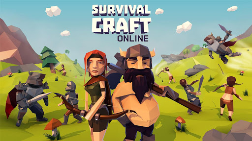 بازی اندروید صنعت آنلاین بقا - Survival Craft Online