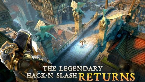 بازی اندروید شکارچیان سیاهچال 5 - Dungeon Hunter 5