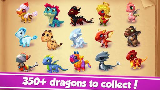 بازی اندروید افسانه اژدها - Dragon Mania Legends