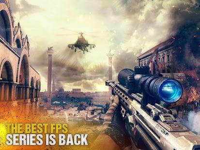 بازی اندروید مدرن کامبت 5 - تیراندازی آنلاین - Modern Combat 5 eSports FPS