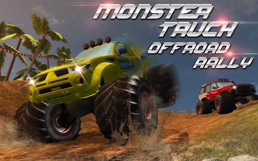 بازی اندروید وانت آفرود هیولا - Monster Truck Offroad Rally 3D