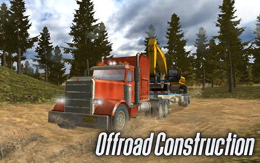 بازی اندروید کامیون های ساختمانی آفرود - 🚧 Offroad Construction Trucks
