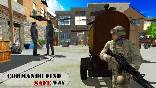 بازی اندروید فرماندهی مأموریت های مبارزه با خشم - Commando Missions Combat Fury
