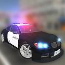 رانندگی واقعی اتومبیل پلیس