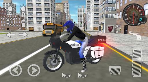 بازی اندروید  شبیه ساز واقعی موتور پلیس 2020 - Real Police Motorbike Simulator 2020