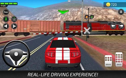 بازی اندروید آکادمی آموزش رانندگی - Driving Academy Simulator 3D