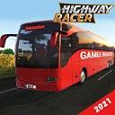 بازی مسابقه اتوبوس بزرگراه - مسابقه ترافیک - شبیه ساز اتوبوس