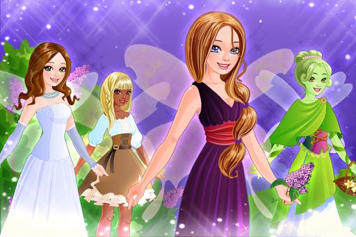 بازی اندروید پیراستن پری کوچولو - Little Fairy Dress Up Game