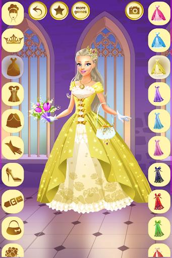 بازی اندروید شاهزاده خانم لباس 2 - Princess Dress Up 2