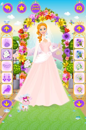 بازی اندروید لباس عروسی شاهزاده خانم - Princess Wedding Dress Up
