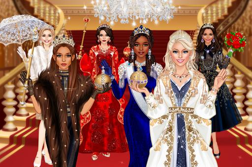 بازی اندروید سالن لباس سلطنتی - ملکه مد سالن - Royal Dress Up - Queen Fashion Salon