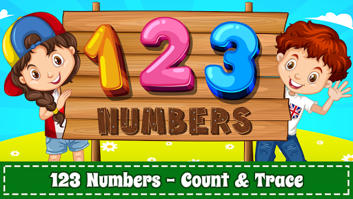 بازی اندروید یادگیری شماره کودکان - Learn Numbers 123 Kids Free Game - Count & Tracing