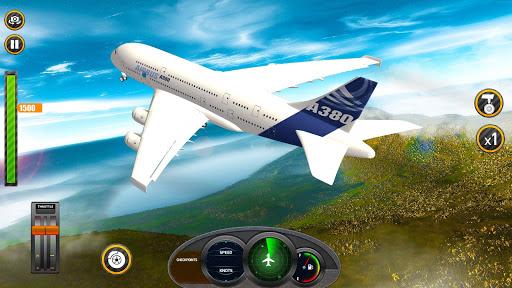 بازی اندروید شبیه ساز واقعی پرواز هواپیما 2020 - خلبان سه بعدی - Airplane Real Flight Simulator 2020: Pro Pilot 3d