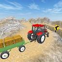 کشاورز راننده تراکتور