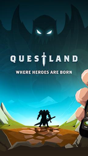 بازی اندروید تلاش زمینی - Questland: Turn Based RPG