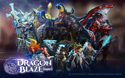 بازی اندروید فروغ اژدها - Dragon Blaze