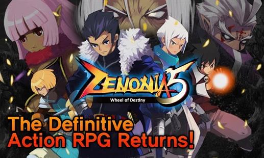 بازی اندروید زنیا 5 - ZENONIA® 5