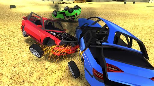 بازی اندروید شبیه ساز تصادف اتومبیل رویال - Car Crash Simulator Royale