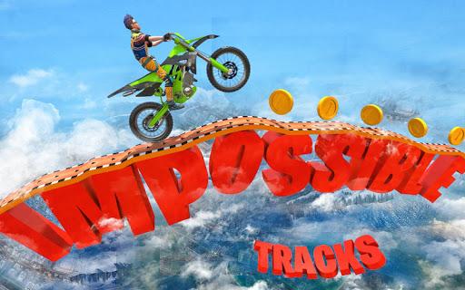 بازی اندروید موتور سواری غیر ممکن - Impossible Bike Stunts