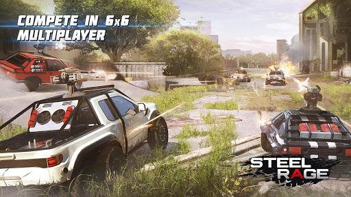 بازی اندروید خشم فولاد - جنگ ماشین -نبرد پیچیده 2020 - Steel Rage: Mech Cars PvP War, Twisted Battle 2020