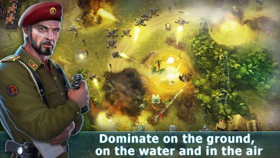 بازی اندروید هنر جنگ 3 - Art Of War 3: Modern PvP RTS