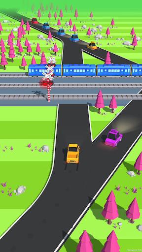 بازی اندروید مسابقه ترافیک - Traffic Run!