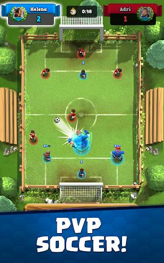بازی اندروید فوتبال رویال - برخورد ستاره فوتبال - Soccer Royale - Stars of Football Clash
