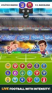 بازی اندروید راس فوتبال لالیگا - Head Soccer La Liga 2016