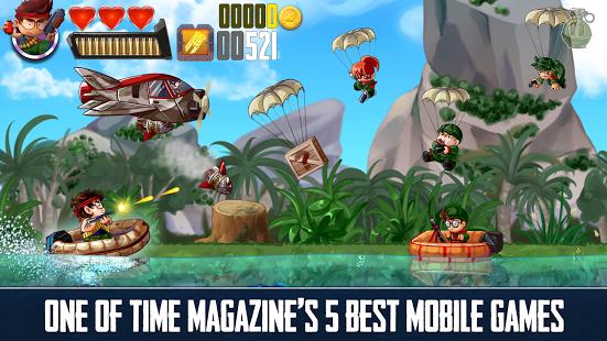 بازی اندروید رمبو - شلیک و سرعت - Ramboat: Shoot and Dash