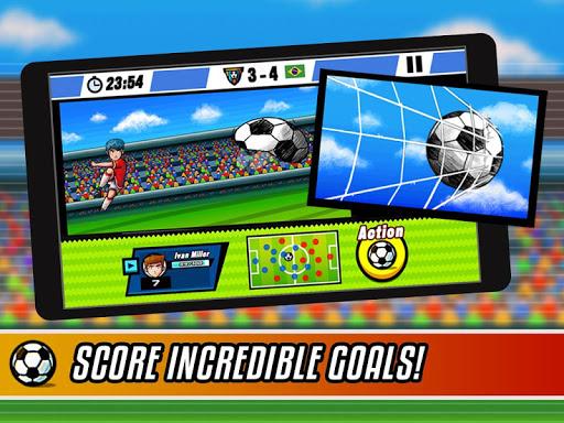 بازی اندروید قهرمانان فوتبال - Soccer Heroes RPG