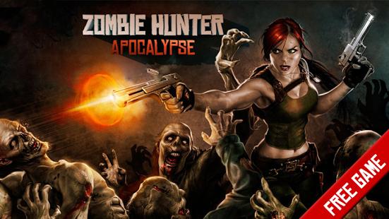 بازی اندروید شکارچی زامبی - Zombie Hunter: Apocalypse