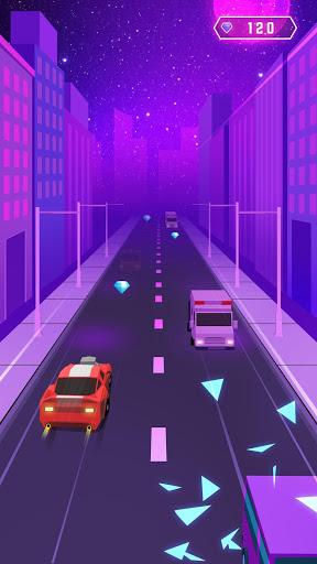 بازی اندروید ماشین رقص - ضرب موزیک - Dancing Car: Tap Tap EDM Music