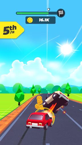 بازی اندروید تصادف جاده ای - roadcrash.io