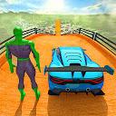 بازی سوپر قهرمان بدلکاری ماشین جی تی