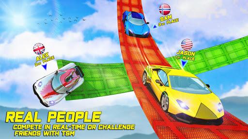 بازی اندروید سوپر قهرمان بدلکاری ماشین جی تی - Superhero GT Racing Car Stunts: New Car Games 2020