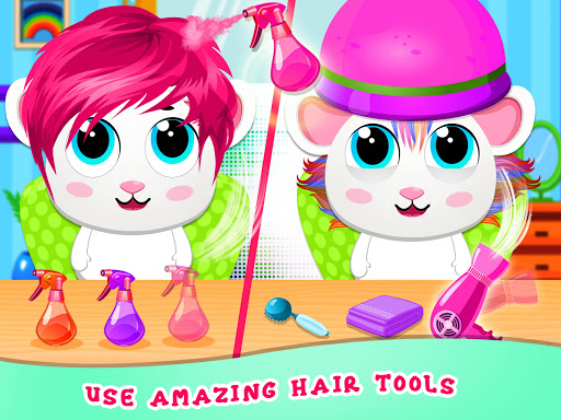نرم افزار اندروید سالن مدل مو حیوانات خانگی - Animal Hair Salon Fashion Stylist