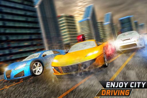 بازی اندروید مسابقه بی نهایت - Roadway Car Racing: Infinite Drive