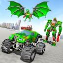 جنگ کامیون ربات هیولا - بازی جدید ربات اژده ها