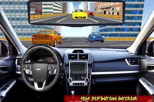 بازی اندروید رانندگی ترافیک - Racing In Car Traffic Drive