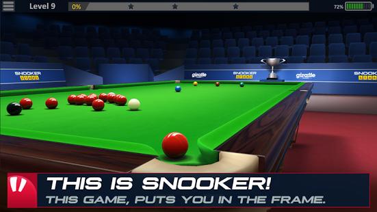 بازی اندروید ستاره بیلیارد - Snooker Stars