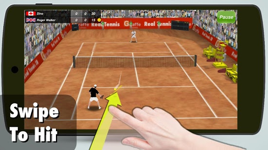 بازی اندروید قهرمان تنیس - Tennis Champion 3D
