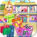 سرگرمی خرید دختران در بازار بزرگ