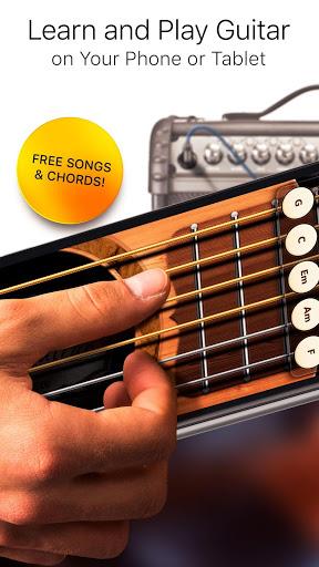 بازی اندروید گیتار واقعی - Real Guitar Free - Chords, Tabs & Simulator Games