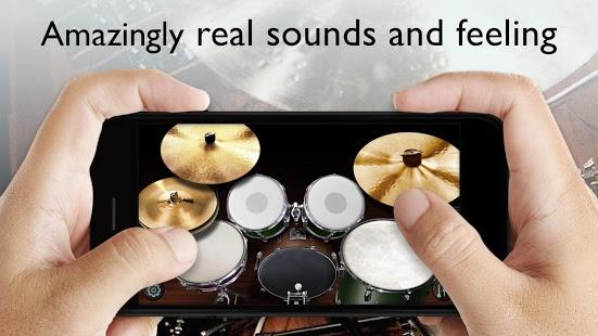 بازی اندروید تنظیم طبل درام - Real Drum Set - Drums Kit Free