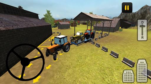 بازی اندروید تراکتور حمل و نقل - Tractor Transporter 3D 2