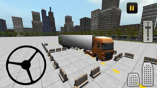 بازی اندروید شبیه ساز پارکینگ کامیون  - Truck Parking Simulator 3D